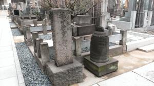 鳶頭のお祭り佐七の墓