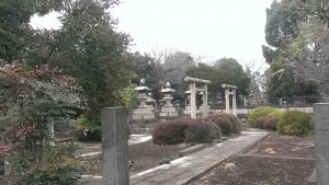 岩倉具視の墓