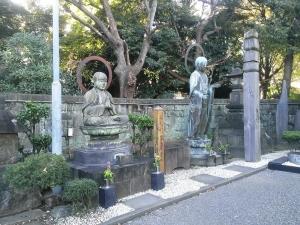 銅造地蔵菩薩