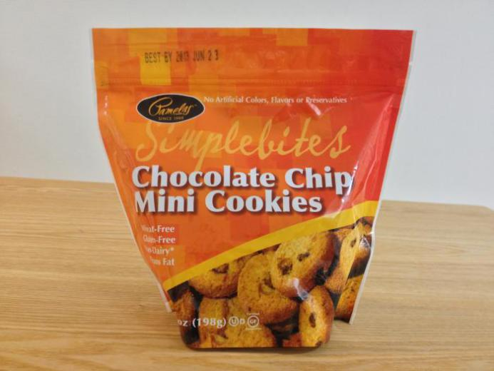 Pamela's Products, Simplebites, Chocolate Chip Mini Cookies, 7 oz (198 g)