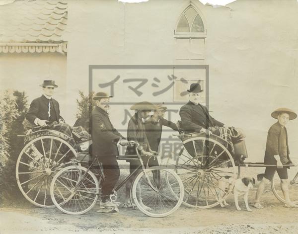 人力車 横浜宣教師