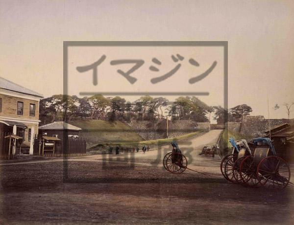 江戸城赤坂御門写真