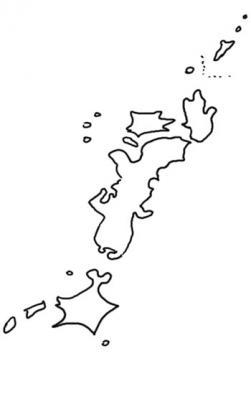 日本逆さまに描いてみた