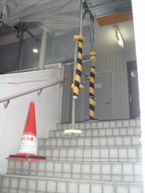 医院前外階段