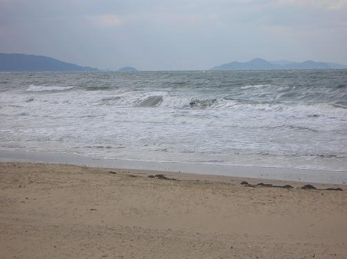 ハードな海11月1日  2