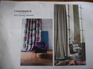 CASAMANCE(カサマンス)2012Spring/Summerレジュメ