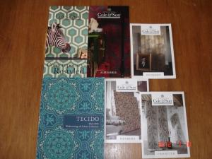 TECIDO(テシード)「Wallcoverings & Fabrics Collection2012-2013」、Cole&Son