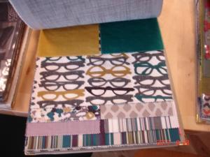 眼鏡のファブリック