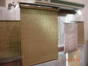 ロールスクリーン ソフィー竹経木不織布彩月(いろどりつき)