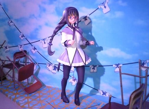 魔法少女まどか☆マギカ展 暁美ほむらゾーン