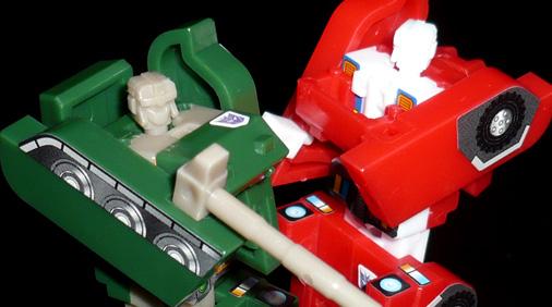 ブロウル&スィンドル ロボットモード