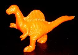 コリス フエラムネのおまけ スピノザウルス(橙)