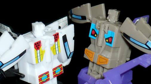 ボルター&ブレストオフ ロボットモード
