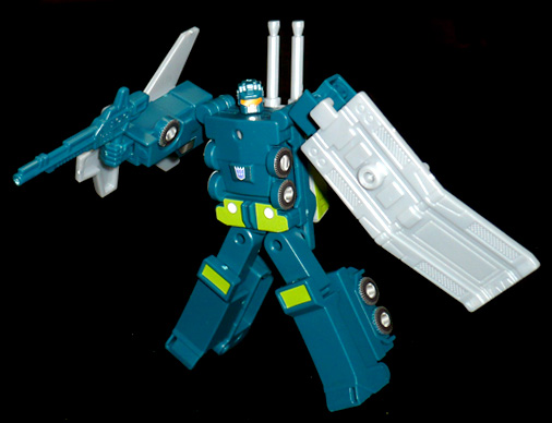 デストロン 攻撃参謀 オンスロート ロボットモード
