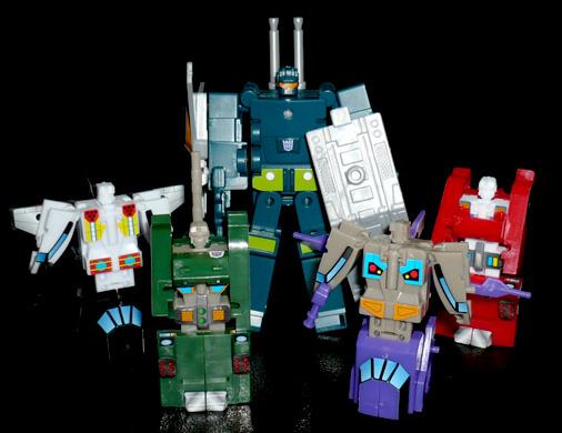 デストロン コンバットロン部隊 ロボットモード