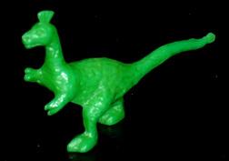 コリス フエラムネのおまけ トサカ恐竜(緑)