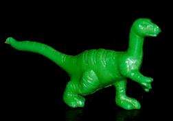 コリス フエラムネのおまけ 背縞恐竜(緑)