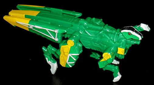 獣電竜 ザクトル(バトルモード)