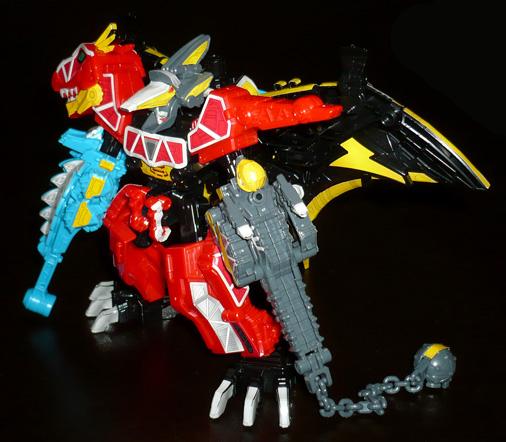 獣電巨人 ライデンキョウリュウジン カンフー