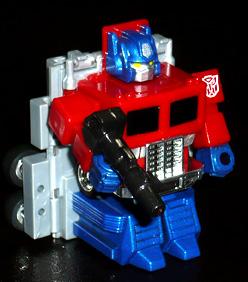 サイバトロン 初代総司令官 コンボイ メタリックVer, ロボットモード