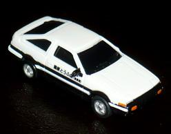藤原 拓海 スプリンター トレノ AE86(初期タイプ)