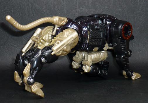 デストロン 諜報破壊兵 メタルスジャガー ビーストモード