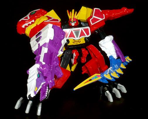 獣電巨人 キョウリュウジン プレズオン