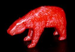 コリス フエラムネのおまけ クマ(赤)