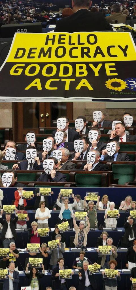 ACTA-EU否決