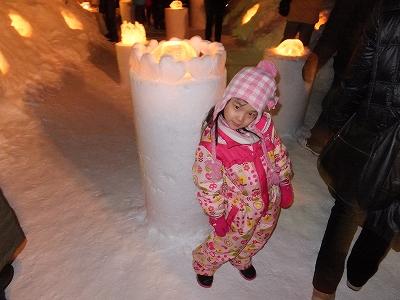 2013-2-10雪灯り