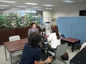 取材風景(2012.10.4)