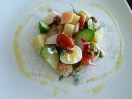 料理サラダ