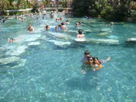 パムッカレ温泉