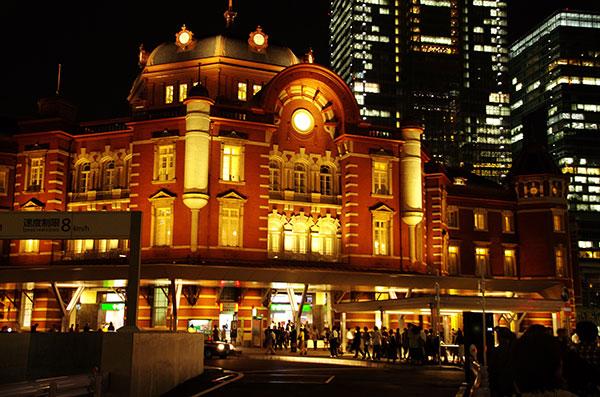 新装 東京ステーションホテル(正面)