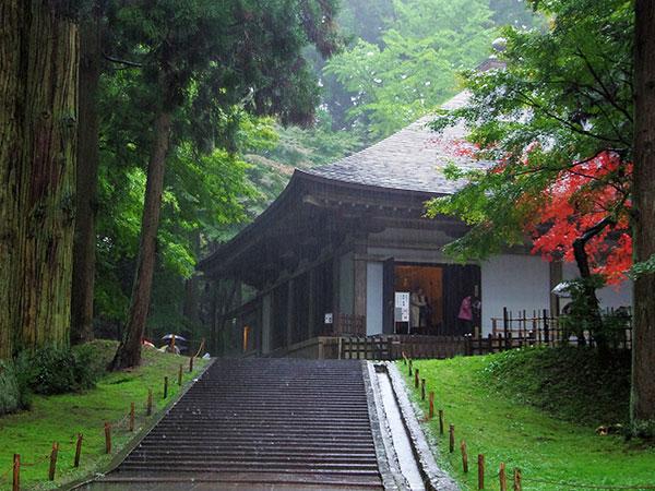 閑散時の中尊寺