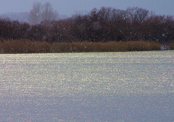 石狩川冬景(2)