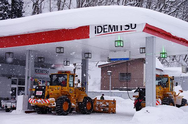 豪雪の西和賀町(1)