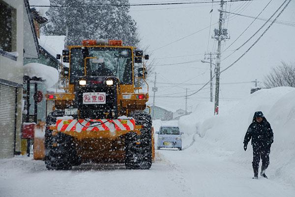 豪雪の西和賀町(2)