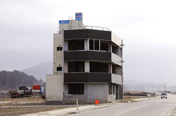 陸前高田の被災ビル(全容)