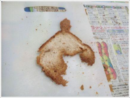 パンのへた