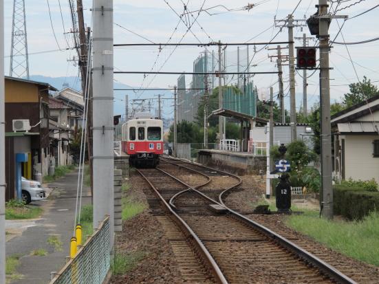 コトデン春日川駅