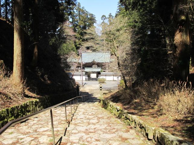 浄土院に向かう階段
