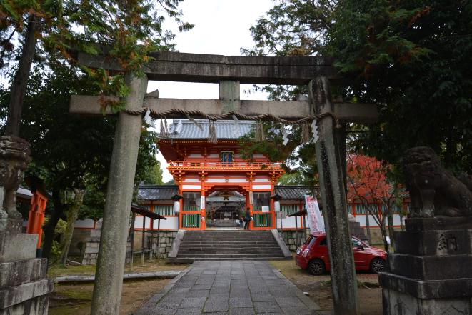 新日吉神社鳥居