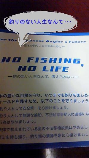 釣りのない人生なんて