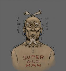 SUPER OLD MAN