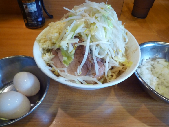 12年7月14日 野猿 アブラッX 麺少な目 ヤサイニンニク