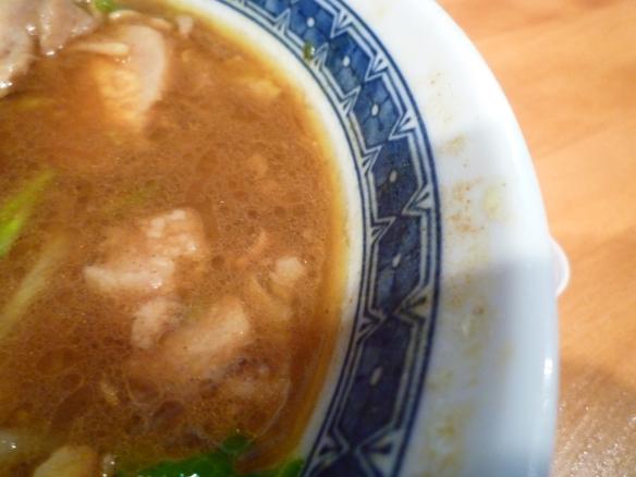 12年7月14日 豚星。 スープ