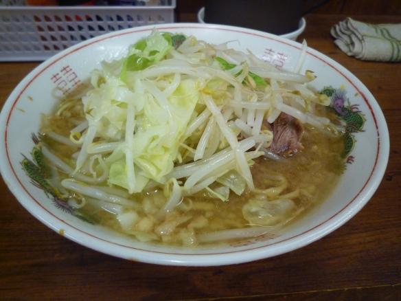 12年8月20日 品川 小 麺少な目