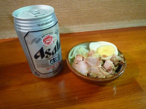 12年9月16日 富士丸西新井 ビール