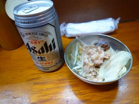12年9月20日 富士丸板橋南町 ビール